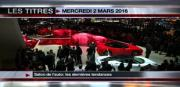 8 info - le JT du mercredi 2 mars 2016