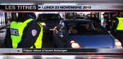 8 info - le JT du lundi 23 novembre 2015