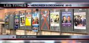 8 info - le JT du mercredi 9 décembre 2015