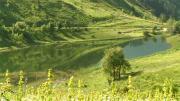 La Place du Village : Village du Loup à Montaimont (Savoie)