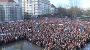 Les Pays de Savoie en marche pour Charlie Hebdo !