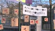 Le blocus des élèves du lycée Louis Armand à Chambéry