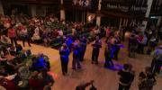 La place du village : Fête de l'Association « La 8 » à Morzine 1ère partie