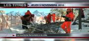 8 info - le JT du jeudi 5 novembre 2015