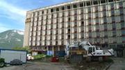 A Annecy, les travaux de démolition de l'hôpital ont bien commencé