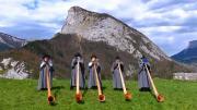 La Place du Village : Cor des Alpes à Saint-Pierre-d'Entremont