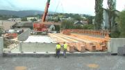Le pont du futur écoquartier de Cognin prend forme