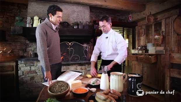 Panier de chef - La ferme de Victorine- ND De Bellecombe - Diots et pormoniers lentilles du