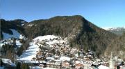 La Place du Village : La Clusaz