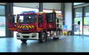 Le 1 000 ème camion de pompier Camiva a été inauguré