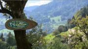 La place du village : Dans les alpages de Saint-Nicolas la Chapelle (Haut Val d'Arly)