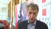 Hervé Gaymard élu président de l'Assemblée des Pays de Savoie