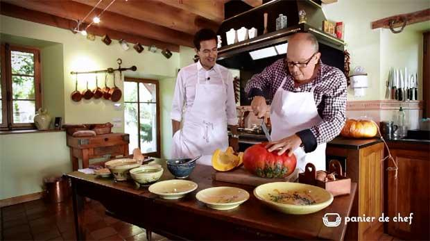 Panier de Chef : Georges Paccard - La Ciboulette - Annecy