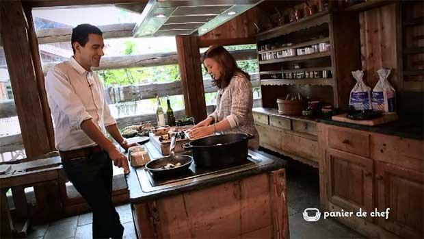 Panier de chef : Jocelyne Sibuet - Fermes de Marie - Megève