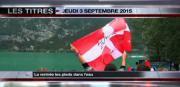 8 info - le JT du jeudi 3 septembre 2015