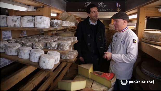 Panier de chef - La fondue Savoyarde de Pierre Gay - Fromager