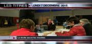 8 info - le JT du lundi 7 décembre 2015