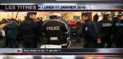 8 info - le JT du lundi 11 janvier 2016