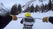 L'accès aux pistes malgré un handicap, à Pralognan la Vanoise