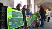 La place du village : Rencontres au marché des producteurs locaux à Belley