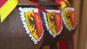 La marmite, symbole de la course de l'escalade à Genève