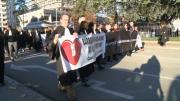 Grève des avocats à Annecy