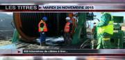 8 info - le JT du mardi 24 novembre 2015