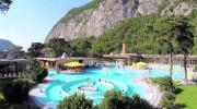 La place du village : Les Bains de Lavey (Canton de Vaud)