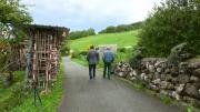La place du village : Rencontres à Ferrières (Pringy)