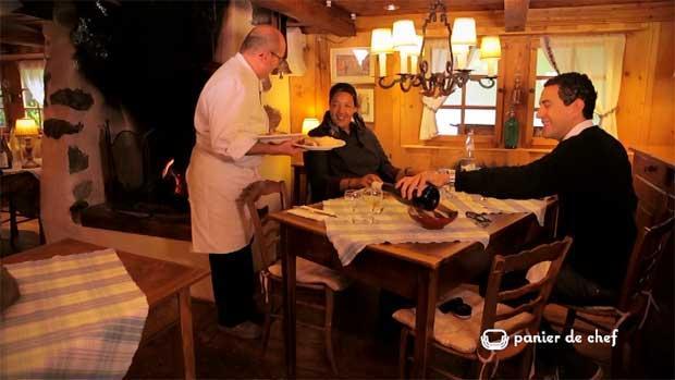 Panier de chef : Poulet à la tomme et au carvi, risotto d'automne - La ferme de Vonezins P. Carteron
