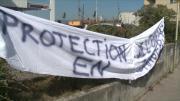 Le personnel de la protection de l'enfance manifeste à Annecy