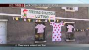 8 info - le JT dumercredi 22 juillet 2015