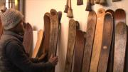 Les skis en bois ont la cote