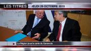 8 info - le JT du jeudi 29 octobre 2015