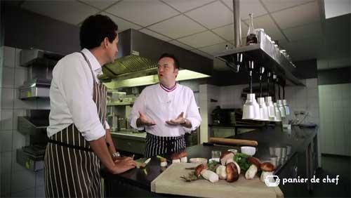 Panier de Chef : Emmanuel Renaut - Flocons de Sel - Megève