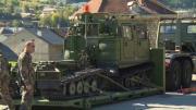 Exercice d'assistance militaire pour le 7è régiment du matériel