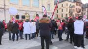 Journée de grogne syndicale à Chambéry