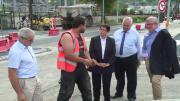 Les travaux ont repris à Chambéry