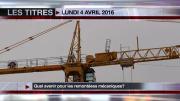 8 Info - Le JT du lundi 4 avril 2016