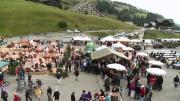 La Place du Village : La foire de bétail des Crosets (Suisse)