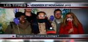 8 info - le JT du vendredi 27 novembre 2015