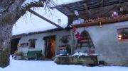 La place du village : Rencontres aux Intages à Combloux