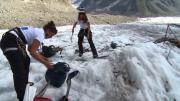 Nettoyage pour le Glacier de Leschaux