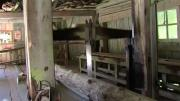 La place du village : A la découverte de la scierie à grand cadre de Bellecombe-en-Bauges