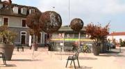 Un jardin éphémère pousse devant la gare d'Annemasse