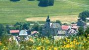 La Place du Village : Lullin