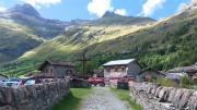 La place du village : Avec Ernest Röemer et Albert Graf, Yodlers suisses, à Bonneval sur Arc