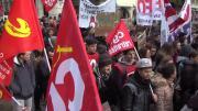 Les jeunes en colère à Chambéry
