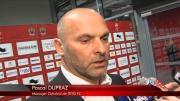 Réaction de Pascal Dupraz sur le score non mérité face à Nice