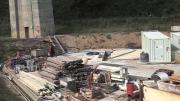 Italie : visite du chantier de la Maddalena